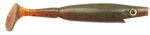 Pig Shad Jr 15cm, 017-Motor Oil Pepper