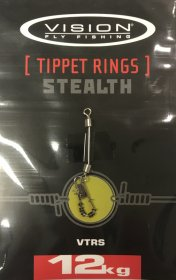 Vision Stealth Tippet Rings 12kg.
